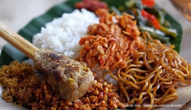Nasi Jinggo Di Denpasar