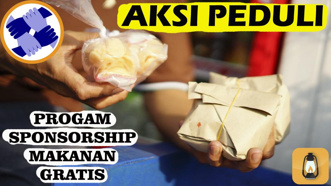 program sponsor donasi makan gratis