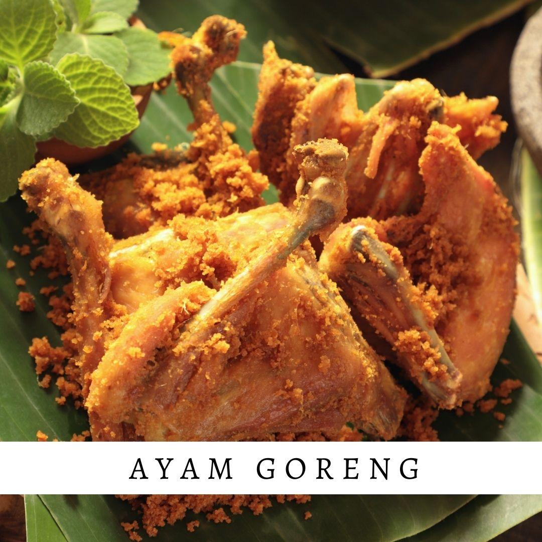 Ayam Goreng - Damar Bali Catering