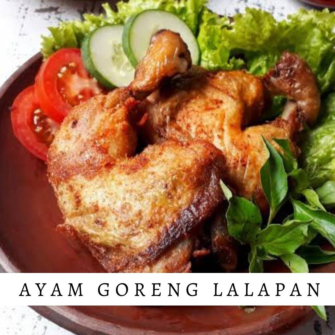 Ayam Goreng Lalapan - Damar Bali Catering