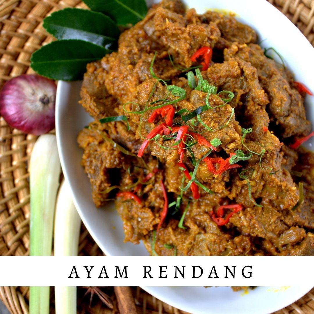 Ayam Padang - Damar Bali Catering