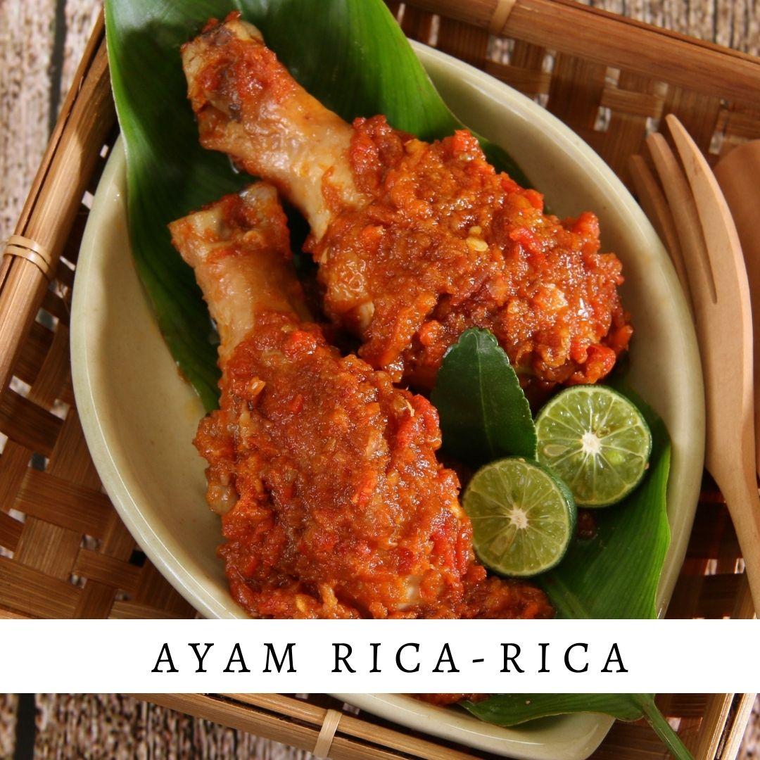 Ayam Rica-rica - Damar Bali Catering