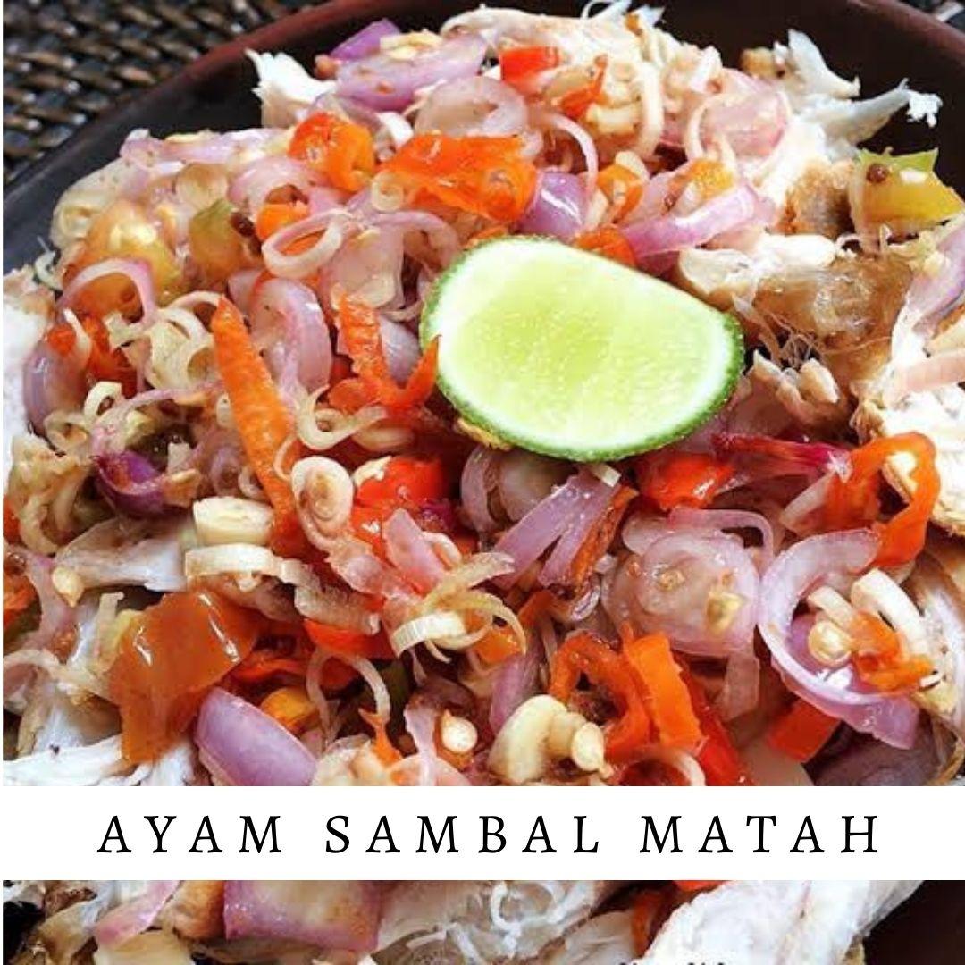 Ayam Sambal Matah - Damar Bali Catering