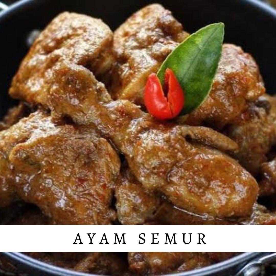 Ayam Semur - Damar Bali Catering