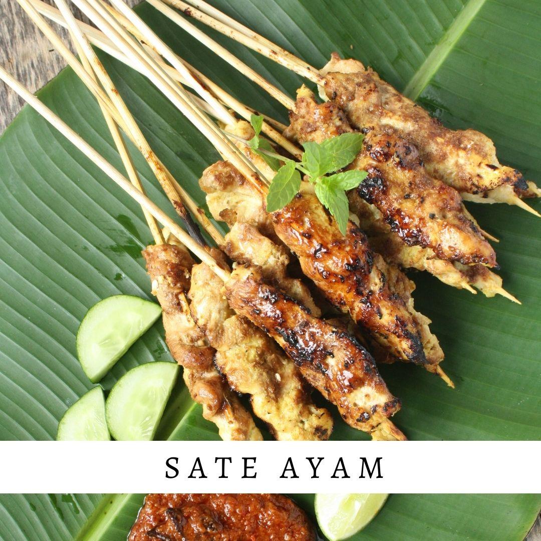 sate ayam tusuk - Damar Bali Catering