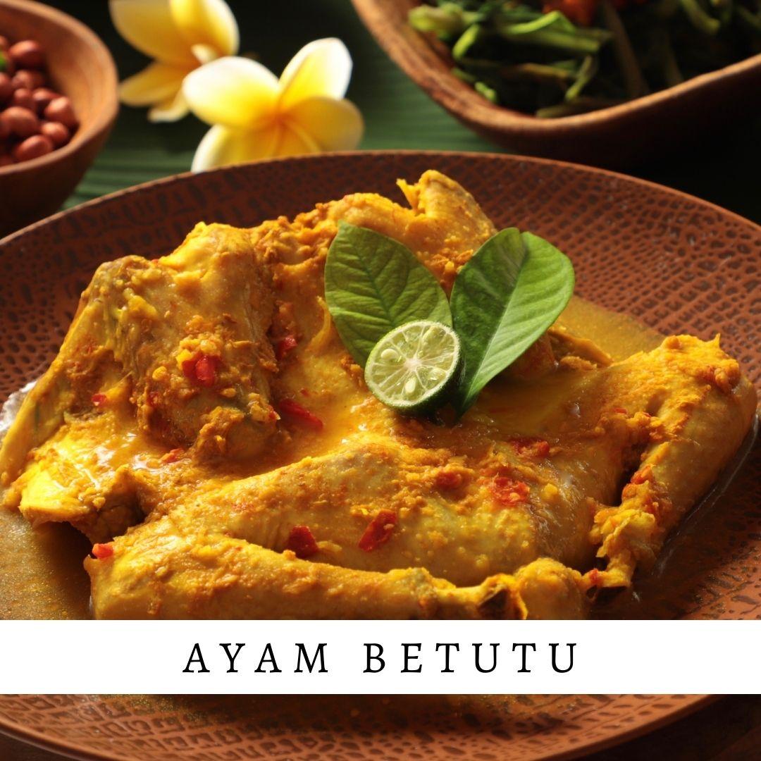 Ayam Betutu - Damar Bali Catering