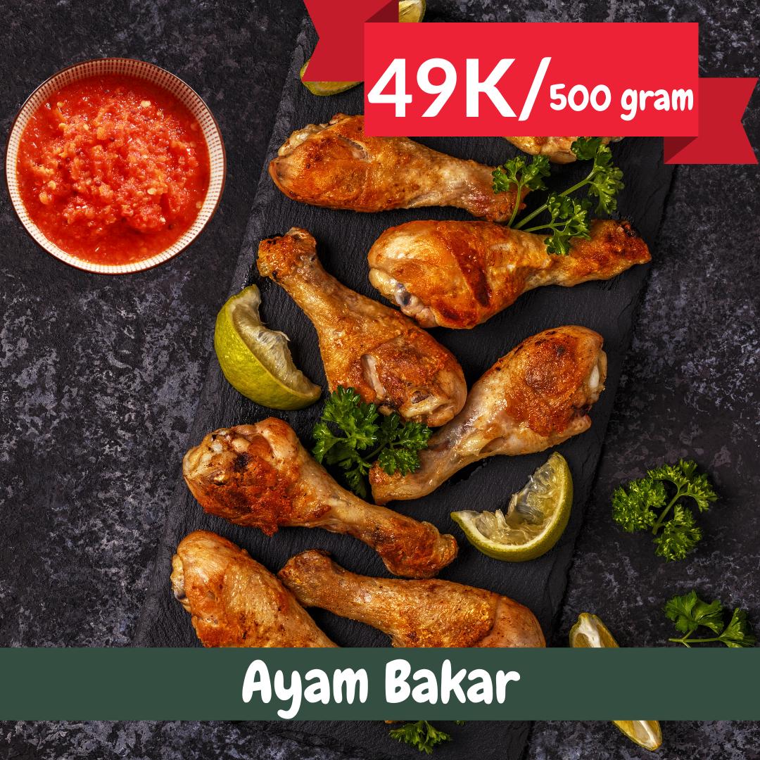 Ayam Bakar  Catering Harian Denpasar