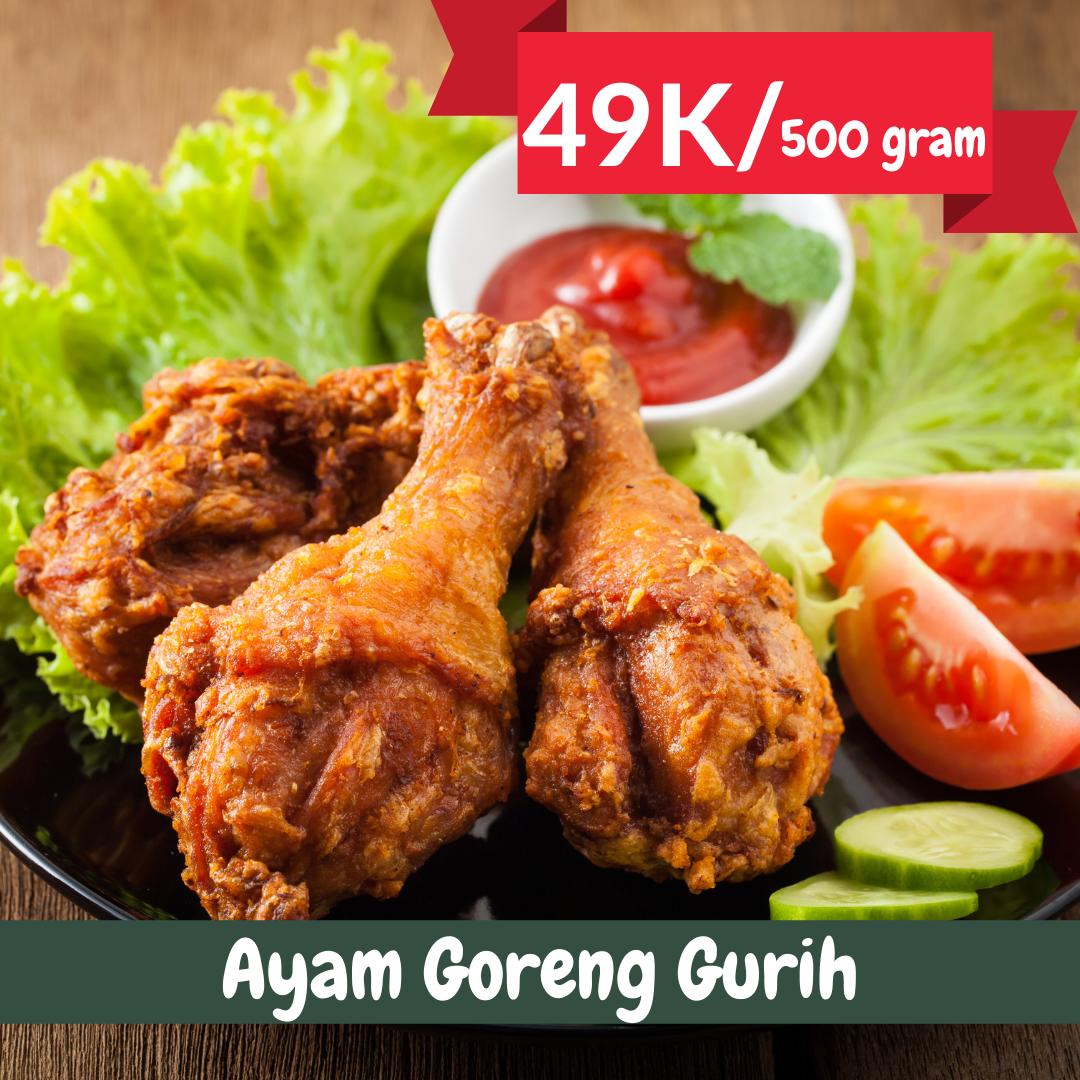 Ayam Goreng Gurih | Catering Harian Denpasar