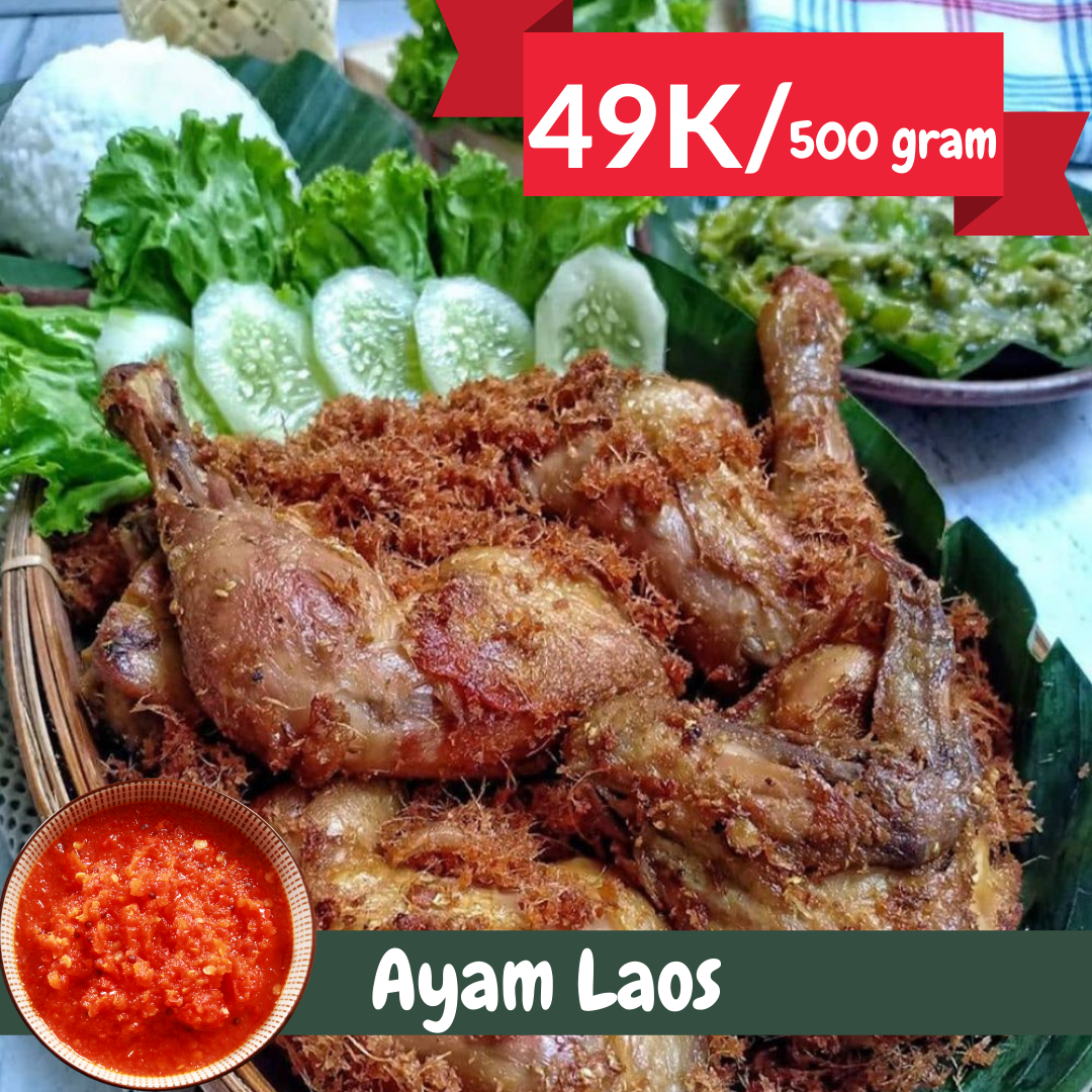Ayam Laos | Catering Harian Denpasar