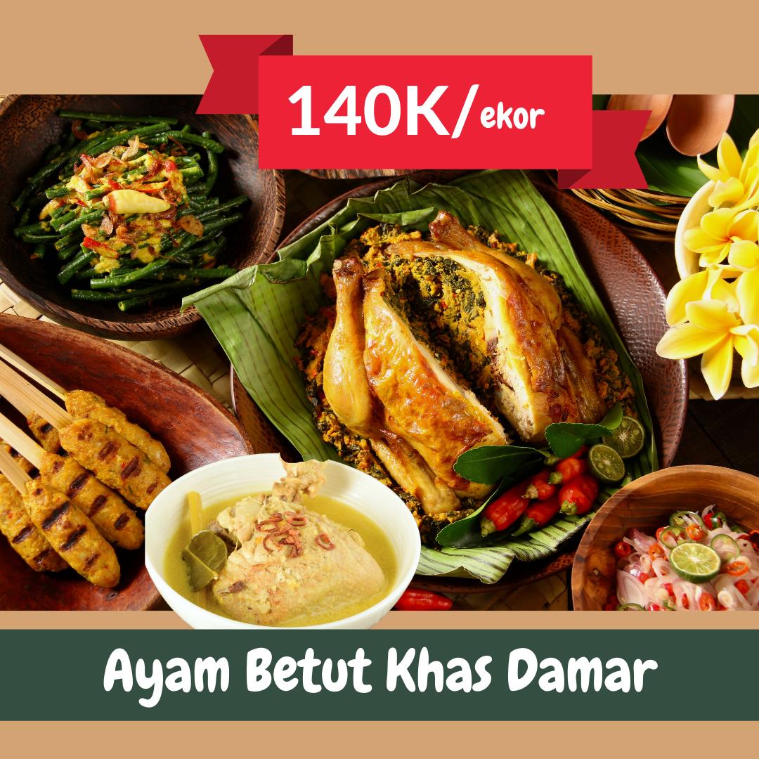 Paket Ayam Betutu | Catering Harian Denpasar