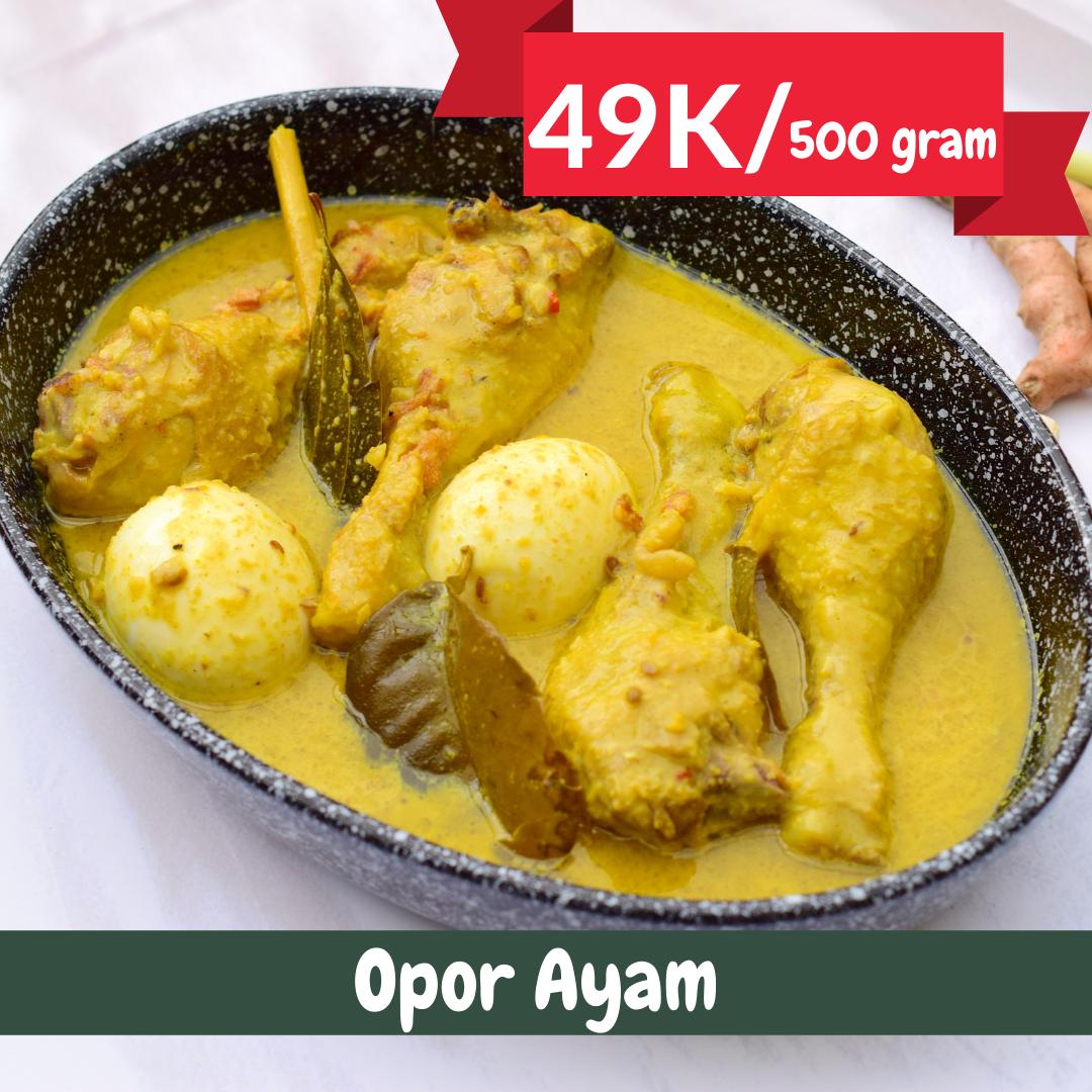 Opor Ayam   Catering Harian Denpasar